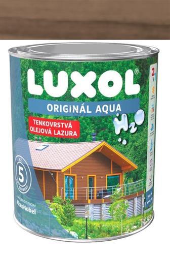 Akzo Nobel Luxol Aqua tenkovrstvá olejová lazura šedý dub 2,5 l