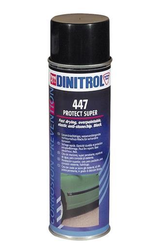 Dinitrol 447 černý přetíratelný sprej proti kamínkům 500 ml