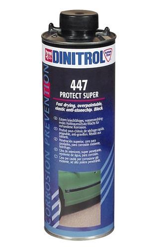 Dinitrol 447 černý přetíratelný proti kamínkům 1 l