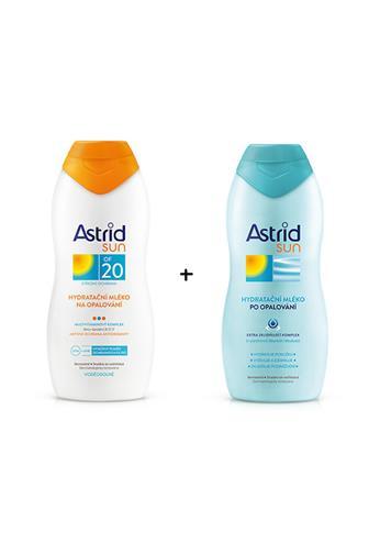 Astrid Sun mléko na opalování OF20 + mléko po opalování