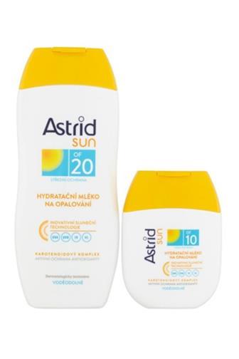 Astrid Sun mléko na opalování OF20 200 ml + mléko OF10 80 ml