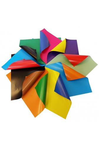 Rico barevný karton oboustraný lesklý 9 ks A4