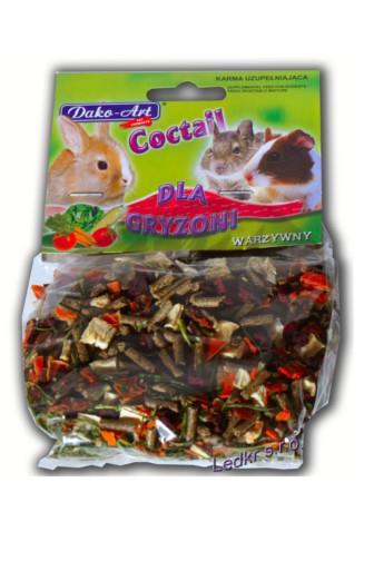 Dako-Art doplňkové krmivo pro hlodavce se zeleninou 75 g