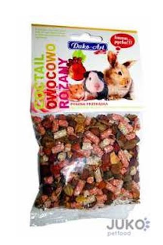 Dako-Art doplňkové krmivo pro hlodavce sušené ovoce 75 g