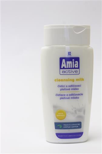 Amia active čistící a odličovací mléko 200ml