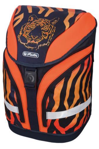 Herltiz Školní taška batoh tygr s vybavením