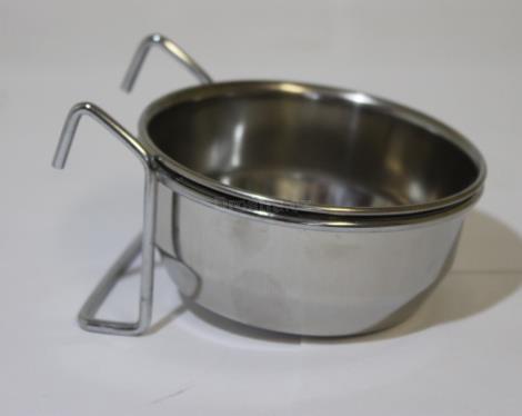 Krmítko kovové pr.9,5cm 300 ml