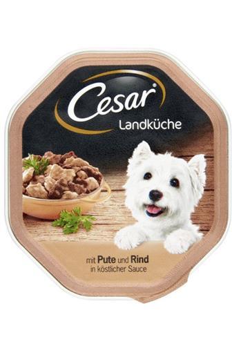 Cesar krůtí a hovězí maso 100 g