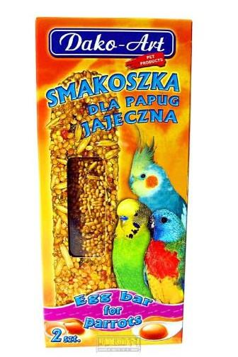 Dako-Art pro papoušky a andulky s vejci 2 ks