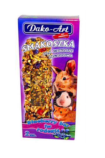 Dako-Art dopl. krmivo pro hlodavce s borůvkou 2ks