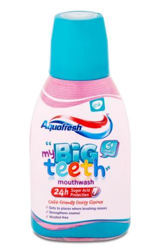 Aquafresh moje Velké zoubky dětská ústní voda 6+ 300 ml