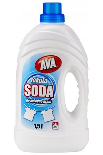 AVA tekutá soda 1,5 l