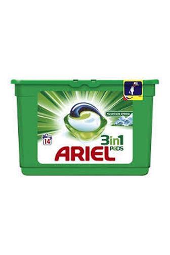 Ariel 3v1 Mountain Spring gelové kapsle14 ks