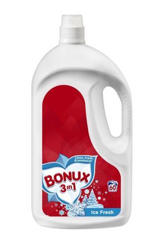 Bonux 3v1 gel Color Spring (66dávek) 3,6l