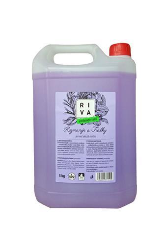 Riva antibakteriální mýdlo rozmarýn a fialky 5 kg