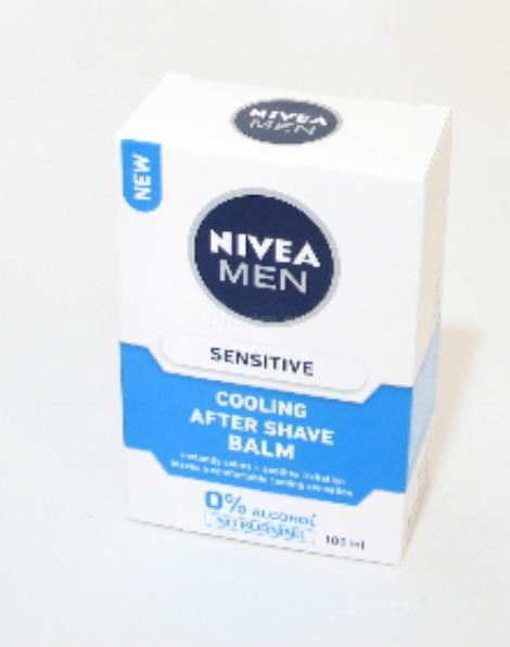 Nivea For  Sensitive Cooling Men balzám 100 ml