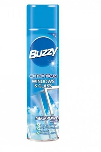 Buzzy aktivní pěna na okna a sklo 435 ml