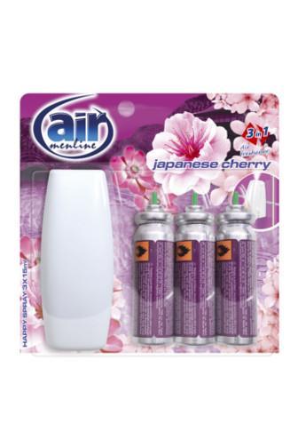 Air Menline happy spray Japanese Cherry 3 x 15 ml