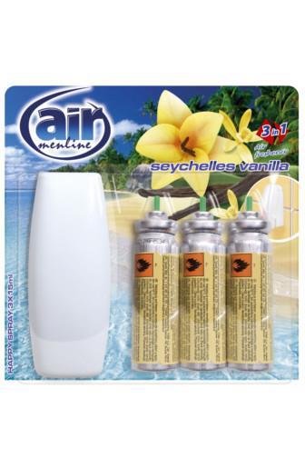 Air Menline happy spray Seychelles Vanilla 3 x 15 ml