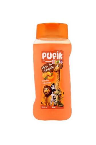 Pufík Kids pěna do koupele meruňka a broskev 350 ml