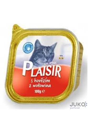 Plaisir cat vanička hovězí 100 g