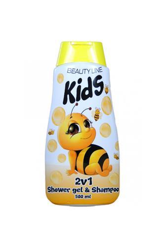 Beauty Line Kids Mayky sprchový gel & šampon 2v1 500ˇml