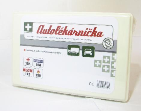 Autolékarnička krabička dle vyhlášky 182/2011