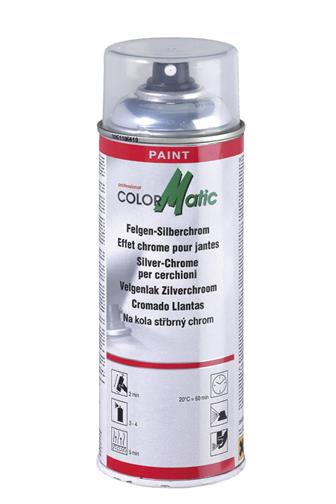 Color Matic na kola stříbrný chrom 400 ml