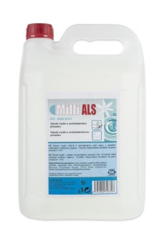 Milli ALS tekuté mýdlo antibakteriální 5 l
