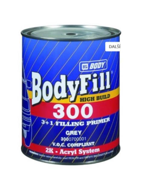 BodyFill 300 3+1 základový plnič bílý 1 l