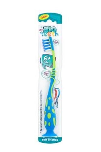 Aquafresh Junior Big Teeth 6+ dětský zubní kartáček
