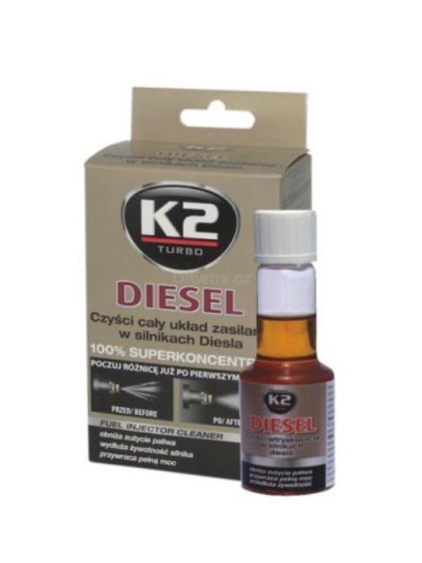 K2 Diesel k čištění trysek 50 ml