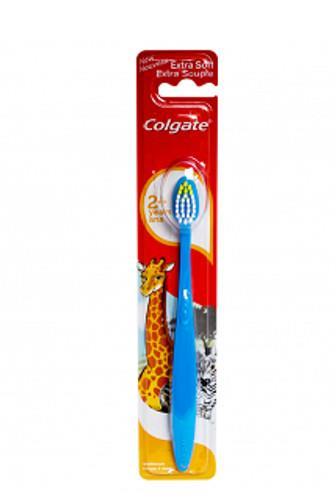 Colgate Extra Soft 2+ let dětský zubní kartáček