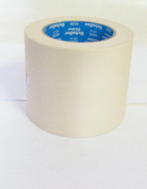 Lepící páska krepová 100mm x 50 m 60st./45min