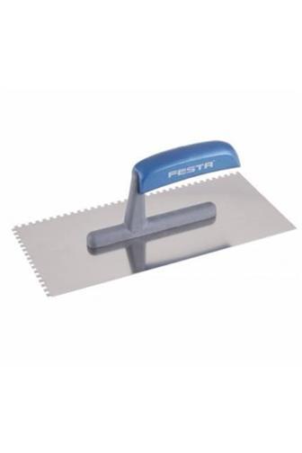 Festa Hladítko nerez zub 4 mm 280 x 130 mm dřevěná rukojeť