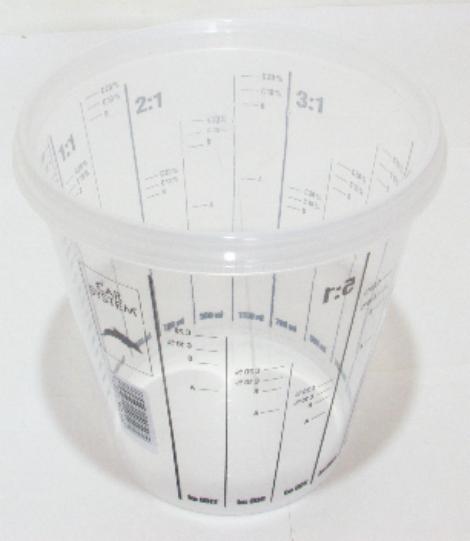 Míchací pohár poměrový 1900ml