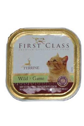 First Class se zvěřinou pro kočky 100 g