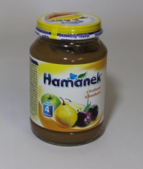 Hamánek s hruškami a švestkami od 4měs. 190g