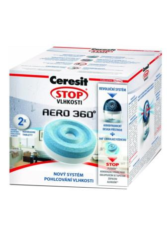 Ceresit Stop vlhkosti Aero 360 náhradní tablety 2 x 450g