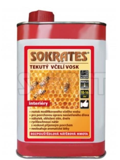 Sokrates tekutý včelí vosk 0,6l