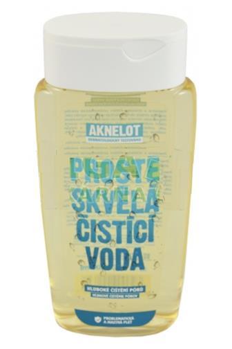 Aknelot čistící voda 200 ml