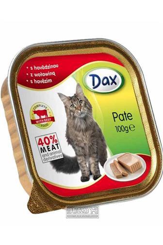 Dax Pate krmivo pro kočky hovězí maso 100 g