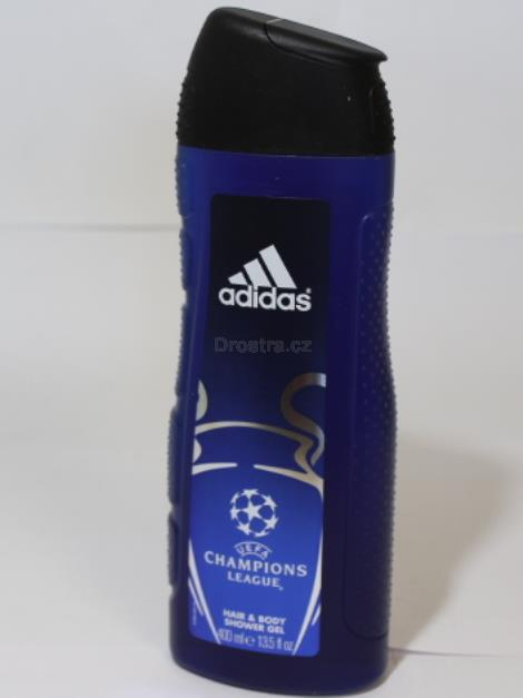 Adidas Champions League Victory  men sprchový gel 2v1 400 ml