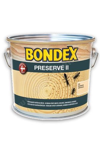 Bondex Preserve - impregnace proti houbám, hnilobě a hmyzu, bezbarvá 2l