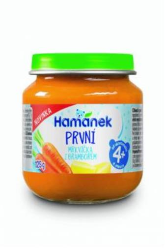 Hamánek koj.výživa mrkev/brambor od 4 měsíců 125 g