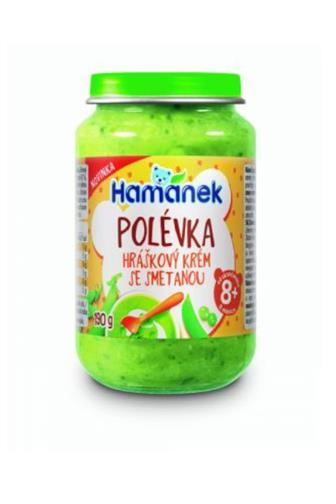 Hamé polévka hrášek/smetana od 8 měs.190 g