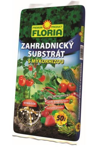 Agro Floria Substrát zahradnický s mykorhizou 50l