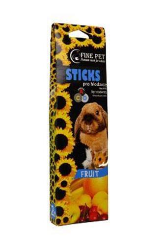 Fine Pet Sticks Fruit pro hlodavce 2 ks