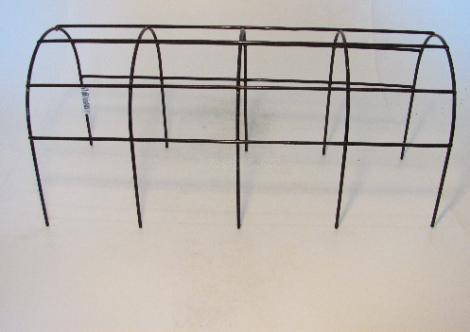 Mřížka opěrná truhlíková kov 40cm