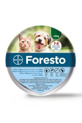 Foresto obojek pro kočky a psy 1.25g+0.56g 8 kg